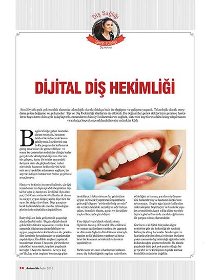 Zerrin Tüfekçi - Dijital Diş Hekimliği