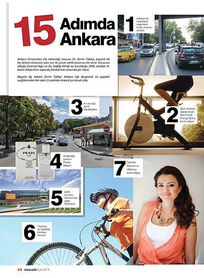 Zerrin Tüfekçi - 15 Adımda Ankara