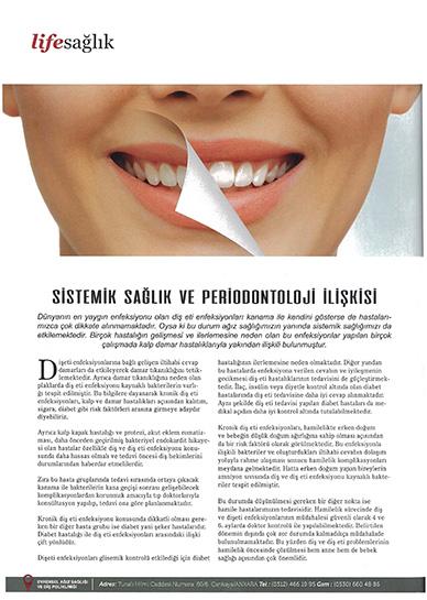 Duygu Yavuzer - Sistemik Sağlık ve Periodontoloji İlişkisi