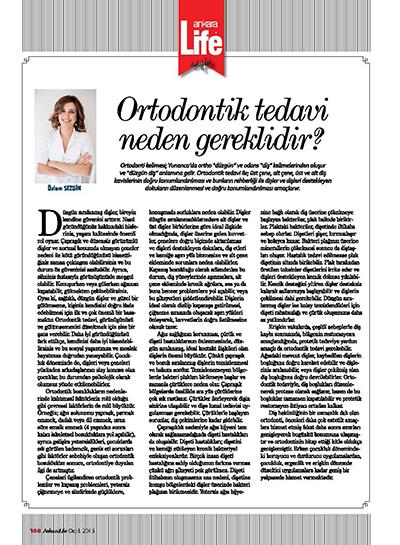 Özlem Sezgin Çınar - Ortodontik Tedavi Neden Gereklidir?