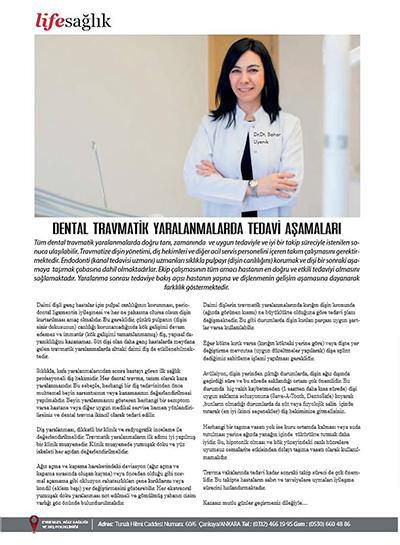Bahar Uyanık - Dental Travmatik Yaralanmalarda Tedavi Aşamaları
