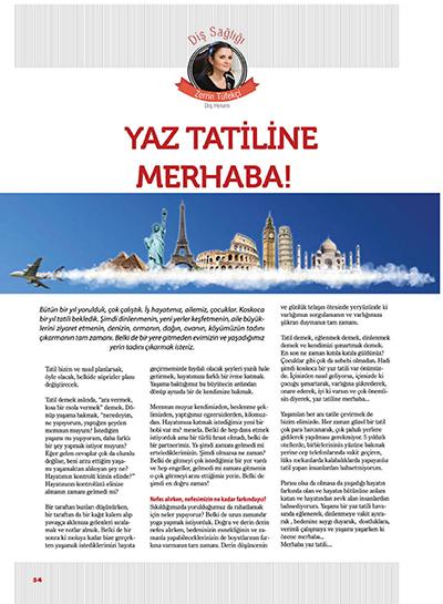 Zerrin Tüfekçi - Yaz Tatiline Merhaba