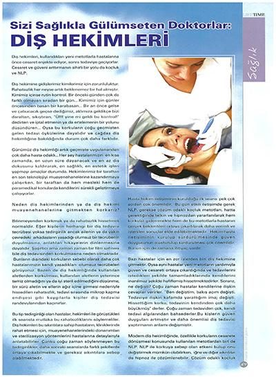 Zerrin Tüfekçi - Sizi Sağlıkla Gülümseten Doktorlar: Diş Hekimleri